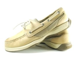 Sperry Top Sider Boat Shoes Women's Sz 8M Tan Leather (tu1) - $27.99