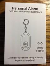 Safe Sound Personal Alarm Keychain Loud Alert LED Light 130db Self-Defen... - $14.01