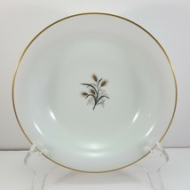 "Noritake Wheatcroft 5852 Coupe Soup Bowl 7.5"" White and Gold Cereal - $9.03"