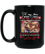 Carl & Ellie To My Love I Love You Forever BM15OZ 15 oz. Black Mug - $18.00