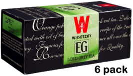 Wissotzky Tea Lord Grey Tea, KP  6/25 tea bags - $33.50