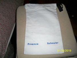 PROENZA SCHOULER Drawstring Dust Bag Purse Handbag Shoes Storage 10x16 - $15.83