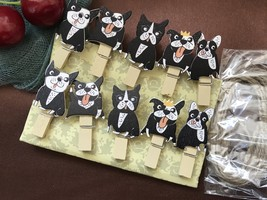 30pcs Dog Clips,Clothespins,Photo Pegs,Children's Party Gift Favors Deco... - $7.20