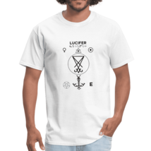 Men's Lucifer Tshirt to Reclaim your life - Bright Colors - $13.43