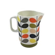 2 X Offiziell Lizenziert Orla Kiely Wasser Milch Keramik Krug Ewer Krug ... - $107.43