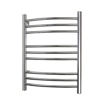 WarmlyYours 9-Bar Polished Stainless Riviera Hard-Wire Towel Warmer - ₹42,617.58 INR