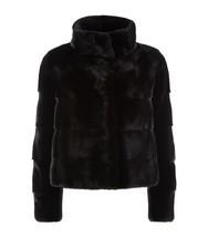 Black Mink Short  Fur Jacket  Nerzmantel - $1,188.00