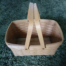1994 Longaberger Large Picnic Basket with Protector  ✨✨✨ - $56.91