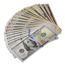 PROP MOVIE MONEY - $925 New Style Mixed (25) Bill Pack - $9.99