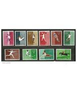 San Marino 456-465 Olympics mnh 1960  - $2.30