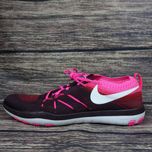 NEW Nike Free TR Focus Flyknit Training Women's Running Shoes Pink 84481... - £53.83 GBP