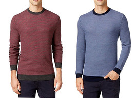 NEW MENS CLUB ROOM CREW NECK ESTATE MERINO WOOL BLEND PULLOVER SWEATER $85 - $18.99