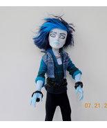 Monster High Repaint Invisi Billy Emo Billy, Male Monster High Custom, OOAK - $60.00
