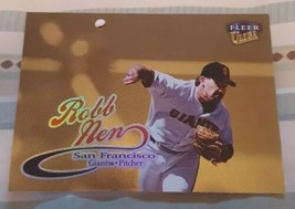 1999 Fleer Ultra Baseball - Gold Medallion - #194G Robb Nen - $1.00
