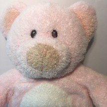 "Ty Pluffies Pinks the Pink Bear Cub 9"" Plush Tylux 2006 Sewn Eyes - $14.70"