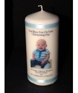 Personalised Baby Photo Gift Keepsake Large Photo Candle by Cellini Cand... - $20.69