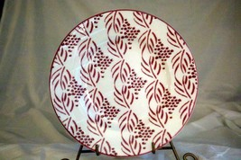 "Lenox 2019 Pointe Berry Cranberry Accent/Salad Plate 9"" New - $13.16"