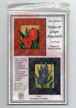 1998/Tulips & Grape Hyacinths/UNCUT Pattern - $3.99
