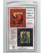 1998/Tulips & Grape Hyacinths/UNCUT Pattern - $3.99