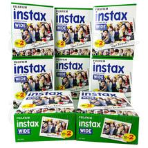 160 PCS Fujifilm INSTAX WIDE Instant film for camera 100/200/210/300 BOX - $184.17