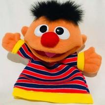 Ernie Sesame Street Puppet 2004 Mattel Fisher Price Plush Storytelling - $15.92