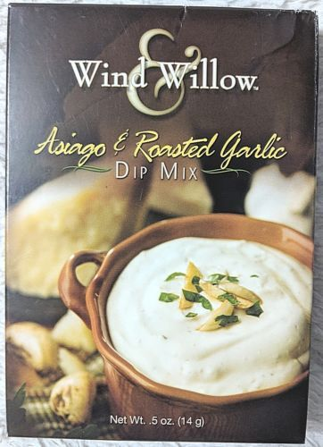 Wind And Willow 5011 Asiago And Roasted Garlic Dip Mix For Crackers Or Veggies