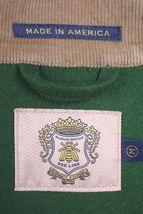 Billionaire Boys Club Bee Line Vert Écossais Laine Fox Hunter Veste Nwt image 5