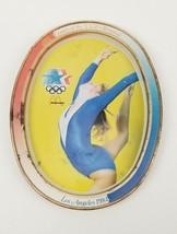 1984 McDonald's Games of the XXIII Olympiad Gymnastics Metal Collector P... - $9.68