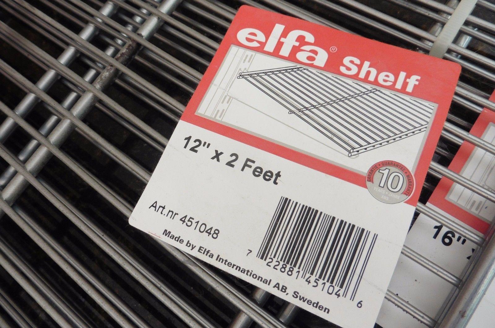 Lot Of 3 Elfa Shelf Custom Shelving Closet And Similar Items