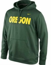 """Nike Oregon Ducks College Pullover Perf. Green """"Large"""" - $21.78"""