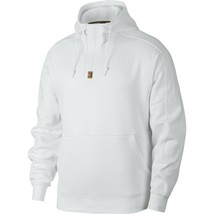 Nike Court Hooded Long Sleeve Men's Top Sweatshirt Hoodie, White, Size S - $68.59