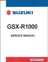 2007-2008 Suzuki GSX-R1000 Service Repair Manual CD -- GSXR 1000 - $12.99