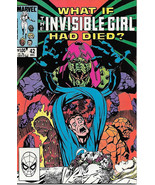 What If? Comic Book #42 Invisible Girl Marvel Comics 1983 VERY FINE+ UNREAD - $3.50