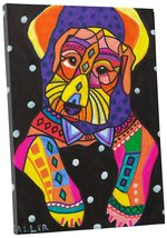 """Pingo World 0414Q5VKM7Y """"Heather Galler Airedale Terrier Dog"""" Gallery Wr... - $43.51"""