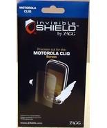 Zagg Invisible Shield Motorola CLIQ Screen Protector - $6.96