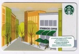 Starbucks 2012  Gift Card Sidewalk Cafe No Value English French - $1.89