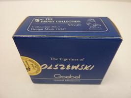 New Olszewski Goebel Miniature Snow White Sleepy Disney 1986 S-2 162-P S... - $59.35