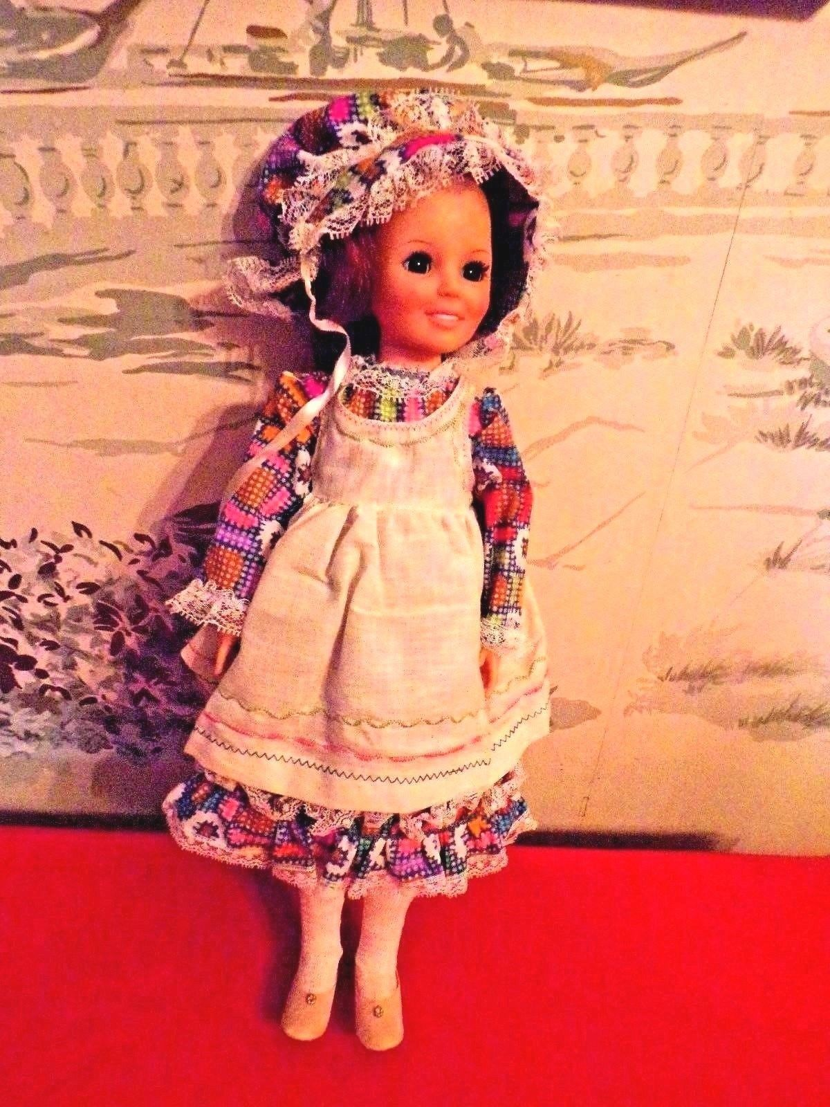 "Primary image for Vintage 1968 Ideal Crissy Doll 17"" with Growing Red/auburn hair"