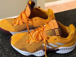 Men's Adidas Pro Bounce 2018 Low ASU Basketball Shoe NCAA B41866 Size 9.5 - $98.99