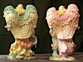 Pair of Angel Figurines in box AA-192051 Vintage image 5