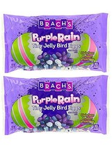 Brach's Purple Rain Tiny Jelly Bird Eggs! Jelly Beans 13 Oz Pack of 2! 4 Fruity  image 1
