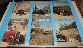 The Vintage Ford Magazine 1979 Model T Club of America COMPLETE YEAR Lot... - $19.39