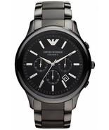 Armani AR1452 Men´s Black Ceramica Chronograph Bracelet Watch - $157.99