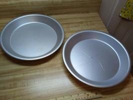 """Wear-Ever aluminum pie pans 10"""" size - $16.10"""