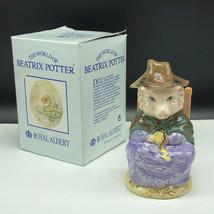 Beatrix Potter Figurine Royal Albert Peter Rabbit And This Pig Had None Warne Uk - $41.58