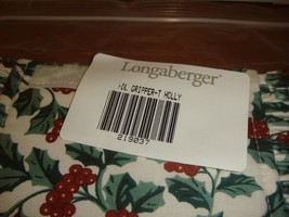 Longaberger Handle Gripper Traditional Holly - $13.99