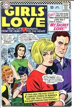 GIRLS' LOVE STORIES #118-DC ROMANCE-GREAT COVER VG/FN - $30.26