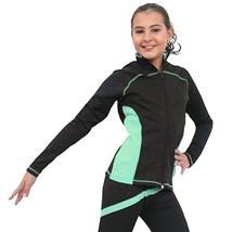 Chloe Noel J06B Skating Jacket - Light Green Size Child Large - $59.99