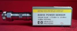 Agilent - Keysight 8481D Low Power Sensor, 10MHz to 18GHz (-70 to -20 dBm ) - $460.75