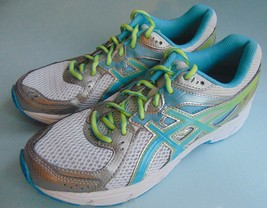Womens ASICS Athletic Sneaker Shoes Training Running T474N Size 9 EUC - $32.71